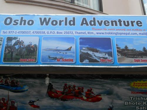 Osho World Adventure