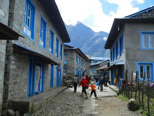 Streets of Lukla