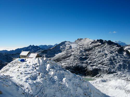 Rock Camp 5135m, Huayna Potosi. Bolivia