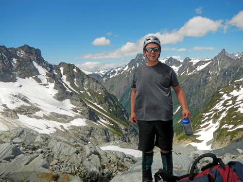 Excited to be on the Ptarmigan Traverse
