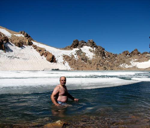 Sabalan Lake 4800 metr