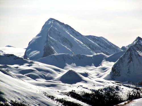 North Glacier of Coronet Mtn.