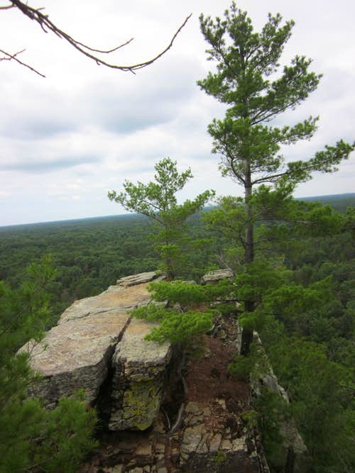 Lone Rock, Wisconsin - Northern Overlook