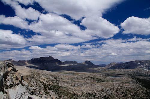 Humphreys Basin from Pilot Knob