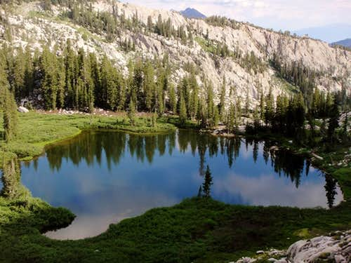 Lake Hardy (Schoolhouse Springs Route to South Thunder Mtn)