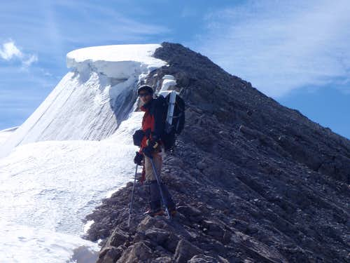 Nearing first summit