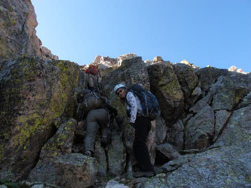 Scrambling Peak T