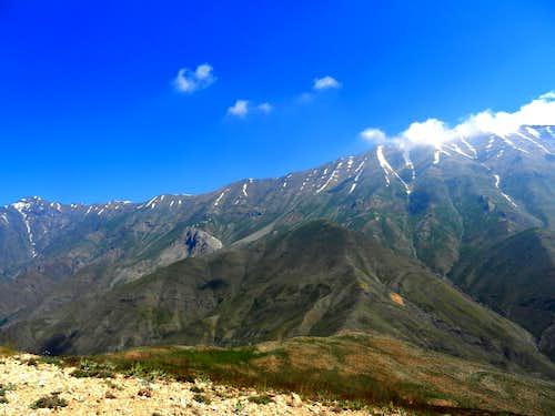 Koloonbastak-Sarakchal ridge