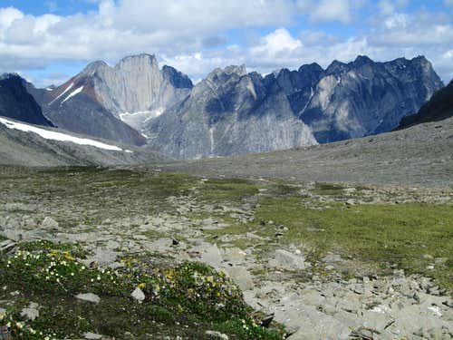 Cirque of the Unclimbables, Nahanni National Park, NWT, Canada