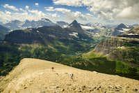 Climbing Mount Henkel's West Ridge