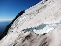 Crevasse on Wintun Glacier