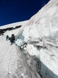 Edging the Crevasse