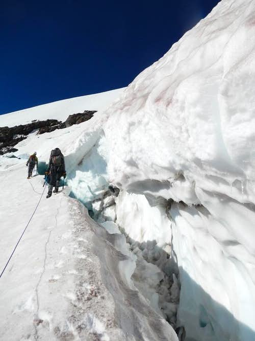 Edging the Crevasse