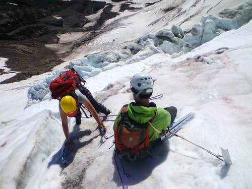 Topping Out on Wintun Glacier