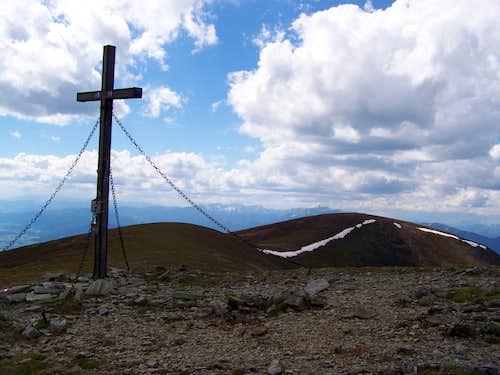 Speikkogel summit cross