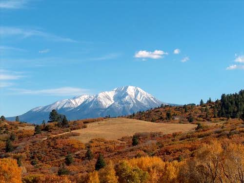 West Spanish Peak, October...