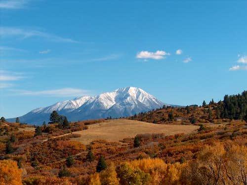 West Spanish Peak, October...