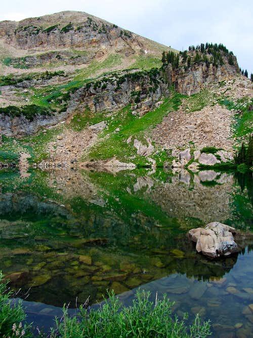 Sugarloaf Peak over Cecret Lake