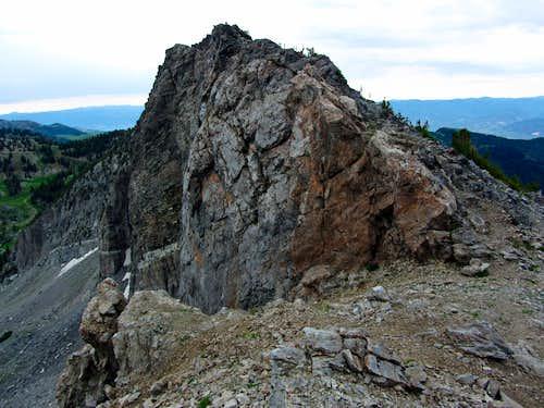 Devil's Castle west ridge