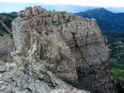 Devils Castle east summit