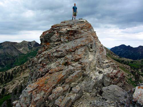 David on Devil's Castle summit