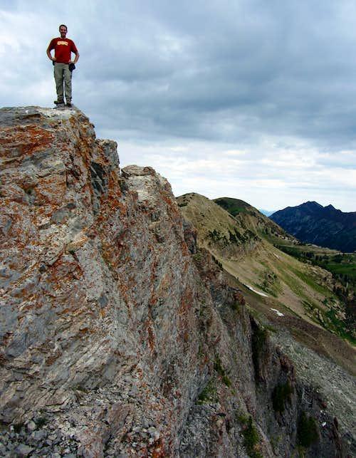 Brandon on Devil's Castle summit