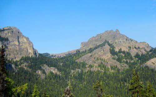 W & NW Fifes Peak