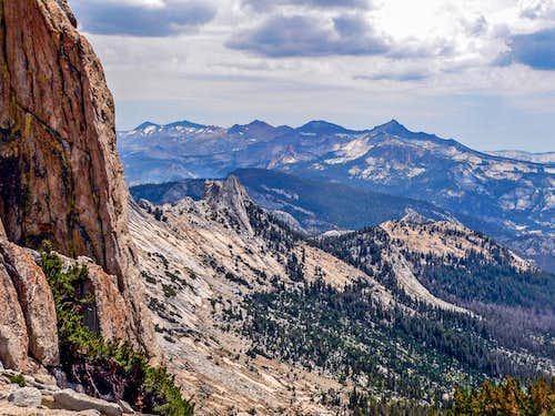 Clark Range from Echo Peaks saddle