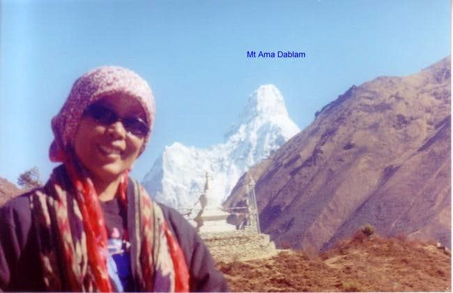 Mount Ama Dablam and Me