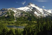Jefferson Park Backpacking:  July 27th and 28th 2013