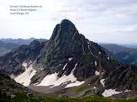 Peak C North routes