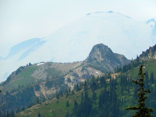 Mt. Rainier from South Slide Mountain
