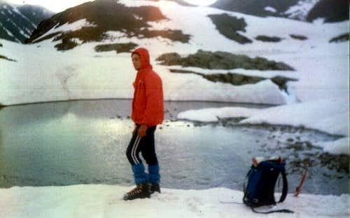 CURT ... VIII Lochs always Lochs Very Frozen Loch 1977