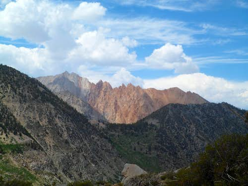 Mt. Emerson and the Piute Crags...