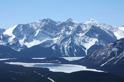 View to Kananaskis Lakes