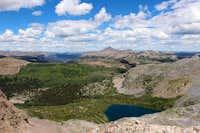 Rock Lake and the upper Rio Grande area