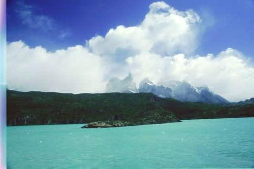 Cuernos Del Paine seen from...