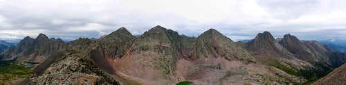 Grenadier Range East to West