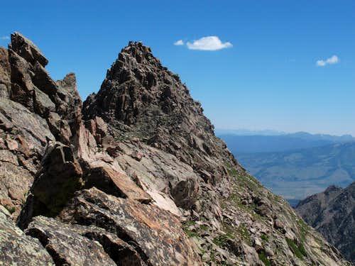Peak S from Upper Slate Lake Gore Range