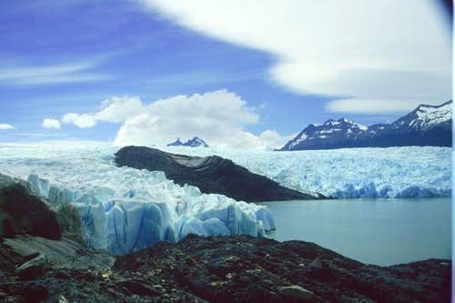 View from Grey Glacier,...