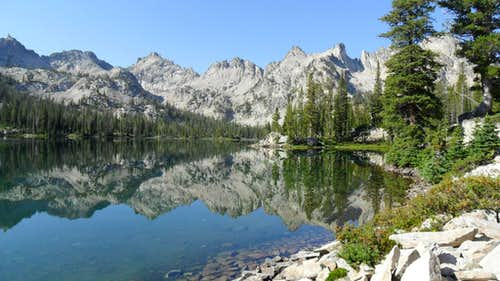 Alice Lake and Perfect Peak