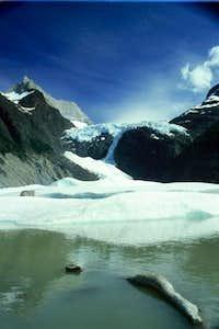 The Los Perros Glacier,...