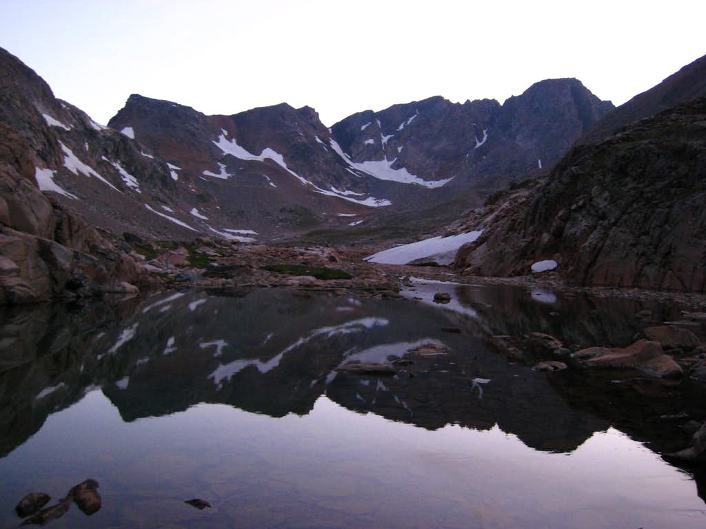 Granite Peak reflection