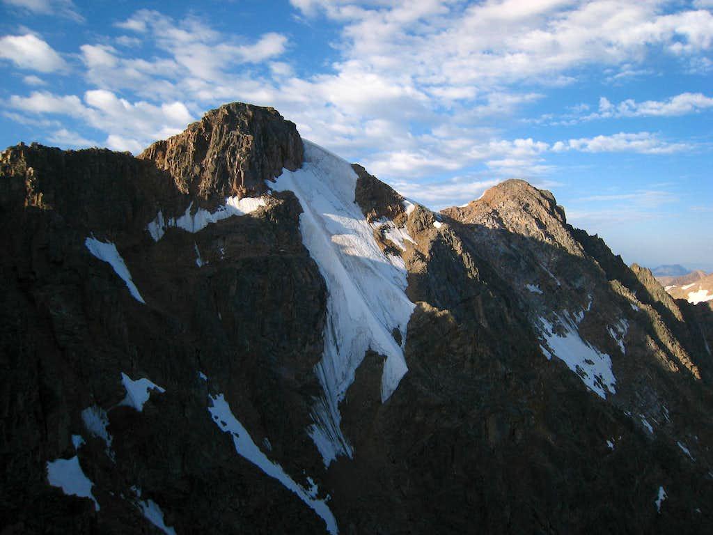 Mount Villard north face