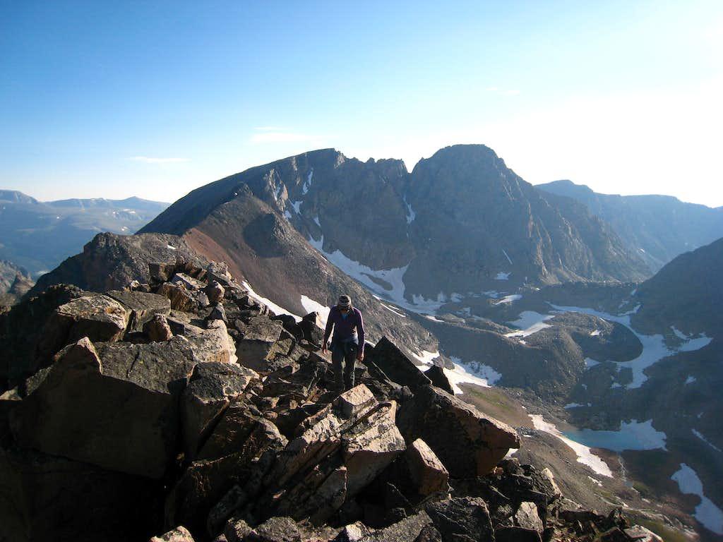 Granite Peak from Villard