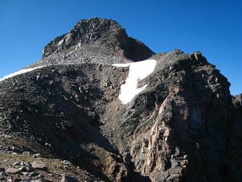 Mount Villard north ridge