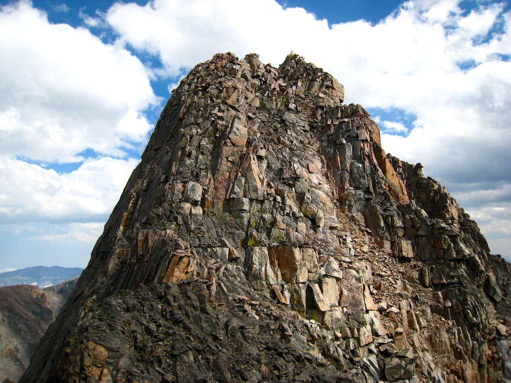 Granite Peak from the west