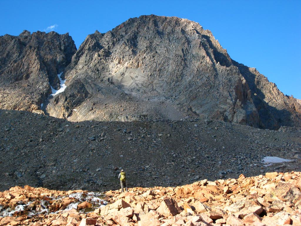 Granite Peak south face