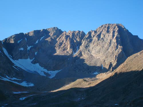 Granite Peak and the traverse