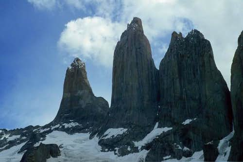 Towers of Paine, January 2004.
